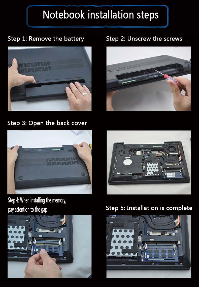 2gb 4gb 8gb Laptop RAM Memory Memoria Sdram For Laptop Notebook 15