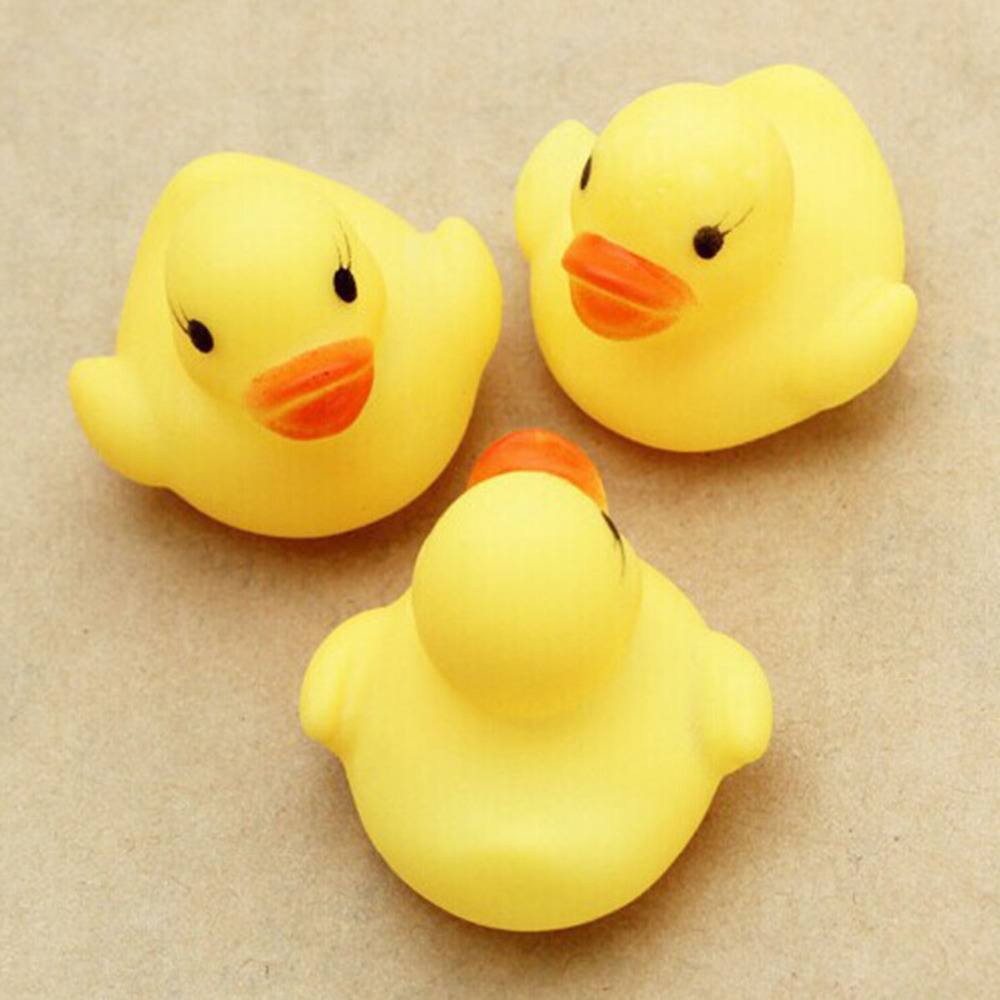 10pcs Bath Toys Classic Hobbies squeeze water Bathroom Bathing Water Spraying Tool baby shower birthday parties gift animal duck ...