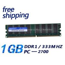KEMBONA Free Shipping DDR 333 PC 2700 1GB MEMORY 1G 184-pin (for all motherboard)  LONGDIMM Desktop RAM DDR1 desktop MEMORY