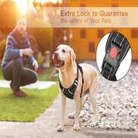 3M Dog Harness No-pull Pet Harness Adjustable Outdoor Vest Reflective Oxford Vest Dogs Easy Control For Small Medium Large Dogs