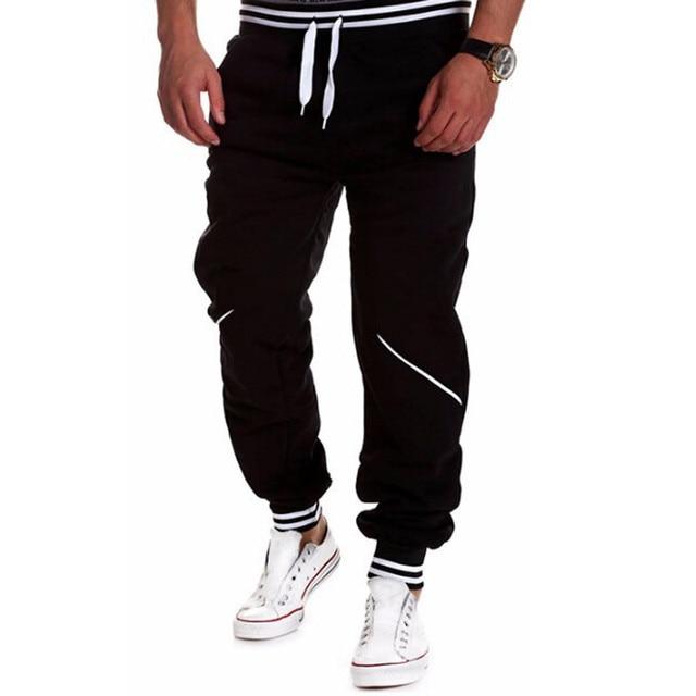 2016 Осень Европейский и Американский стиль Случайный печати брюки Хип-хоп стиль мужские брюки брюки 4 цвет M-XXXL Размер