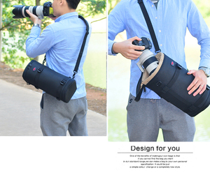 Image 5 - Pro Large Telephoto Lens Thick Padded Bag Case Pouch Protector for Tamron Sigma 150 600mm 50 500mm Nikon 200 500mm Canon 300mm