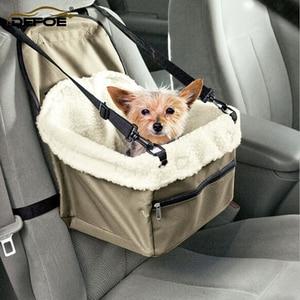 Image 1 - Car pet nest Pet Dog Carrier Pad Dog Seat Bag Basket Pet Products Safe Carry House Cat Puppy Bag Dog Car Seat freeshipping