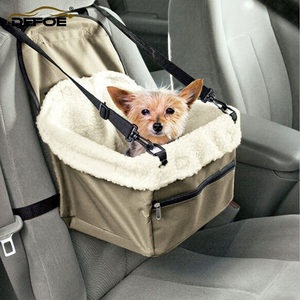 Image 1 - מכונית מחמד כלב Carrier Pad כלב תיק סל מוצרים לחיות מחמד בטוח לשאת בית חתול גור תיק כלב רכב מושב freeshipping