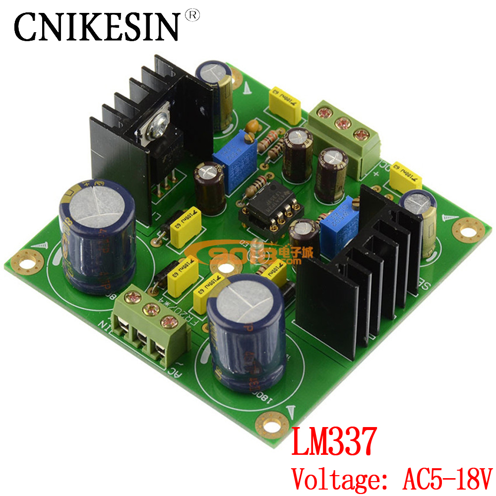 Cnikesin Lm337 Dc Servo Adjustable Voltage Stabilized Power Supply Circuit 4 Bipolar Stabilizes This Solves Board Positive And Negative Dual Band Rectifier Filter In Integrated Circuits From