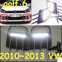 2011~2013 VW Golf6 daytime light; Free ship!LED,VW Golf6 fog light,2ps/set;VW Golf 6