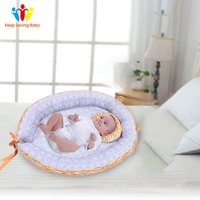 New Pure Cotton Baby Nest Bed Cradle Cot Removable Washable Travel Crib Bed Newborns Portable Crib Baby Nest Baby Crib
