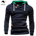2017 Hoodies Men Sudaderas Hombre Hip Hop Mens Brand Double Pocket Long Sleeve Hoodie Sweatshirt   Suit Slim Fit Men Hoody