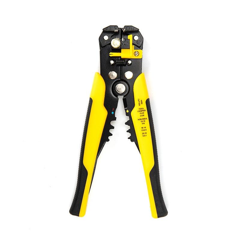 1 stücke Multifunktionale automatische terminal crimpen zangen draht und kabel abisolieren zange abisolierzange Hand werkzeug stripper