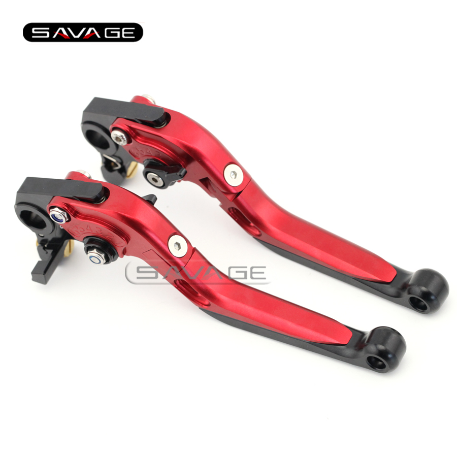 For DUCATI Monster 659 696 796, HYPERMOTARD 796  Red Motorcycle Adjustable Folding Extendable Brake Clutch Levers mtkracing motorcycle cnc adjustable folding extendable brake clutch levers for ducati monster 696 695 796 400 620 s2r st4s