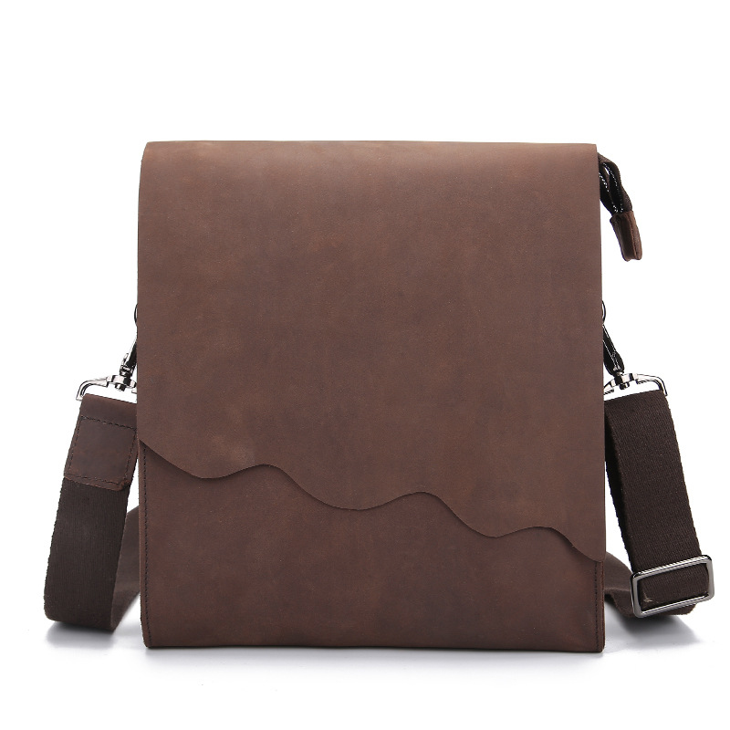 New Simple Genuine Leather Men Small Bag Men Casual Messenger Bags Fashion ipad Flap Mens Cow Leather Crossbody & Shoulder BagsNew Simple Genuine Leather Men Small Bag Men Casual Messenger Bags Fashion ipad Flap Mens Cow Leather Crossbody & Shoulder Bags