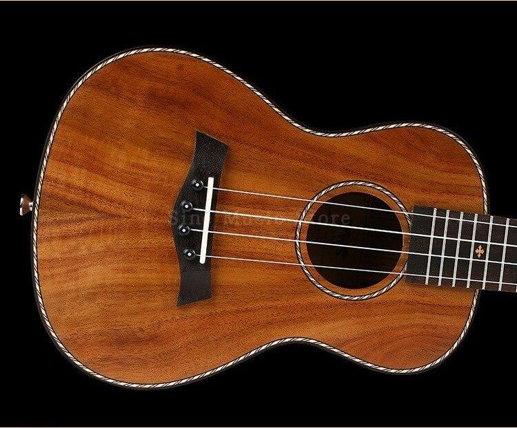 Ukulele 4 Aquila String 23-inch Concert Guitar Hawaiian Mini Small Guitar Folk Guitar the Rose Vines Musical Intruments