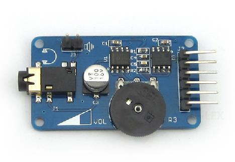 Free Shipping! 4-pin Sound Playback WAV player module voice broadcast module sensor