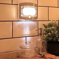 Motion Sensor High Brightness Battery Powered LED Night Lights Home Bedroom Security Light Wall Lamp Indoor