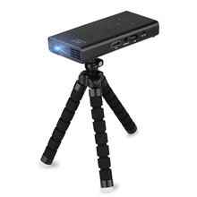 Newest E06 Mini Pocket DLP Projector Support HD 1080P Home Cinema for iPhone Andorid iPad Laptop