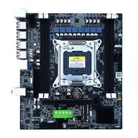 X79 E5 Desktop Computer Mainboard LGA 2011 Dual Channels RECC Gaming Motherboard CPU Platform Support Support i7 Xeon for Intel