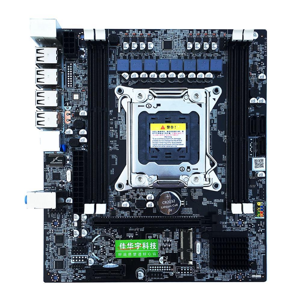 X79 E5 Computador Desktop Mainboard LGA 2011 Dual Canais RECC Motherboard Gaming Suporte À Plataforma CPU Apoio i7 Xeon da Intel