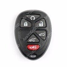 Areyourshop Ключи случае дистанционного брелок случае В виде ракушки 6 Кнопка для Chevrolet Suburban Tahoe для GMC Yukon стайлинга автомобилей ключи