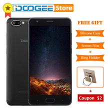 Original DOOGEE X20 Android 7.0 2GB RAM 16GB ROM MTK6580 Quad Core up to 1.5GHz Smartphone 5.0 inch HD Screen 3 Cameras Dual SIM(China)