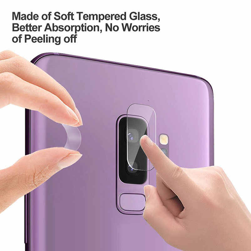 Back Camera Lens screen protector tempered glass For Samsung galaxy note 9 8 s9 A6s A8s A9s a7 a9 A8 A6 plus 2018 film case 2.5D