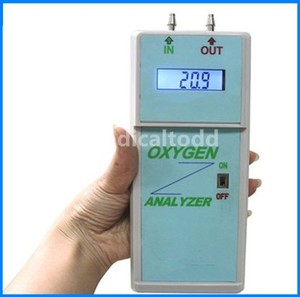 Image 3 - Digital LCD Display Portable Oxygen Analyzer Oxygen Concentrator Purity Oxygen Purity Analyzer Oxygen Density Analyzer