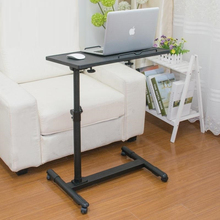 BSDT A simple language Wo steel lazy table bedside folding laptop comter desk on bed FREE SHIPPING