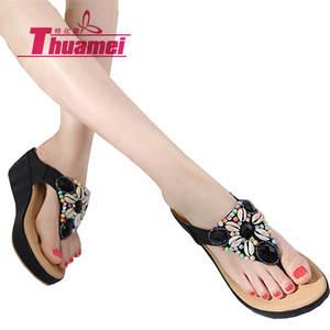 5aa788723a9 Thuamei sandals platform wedge high heels shoes woman