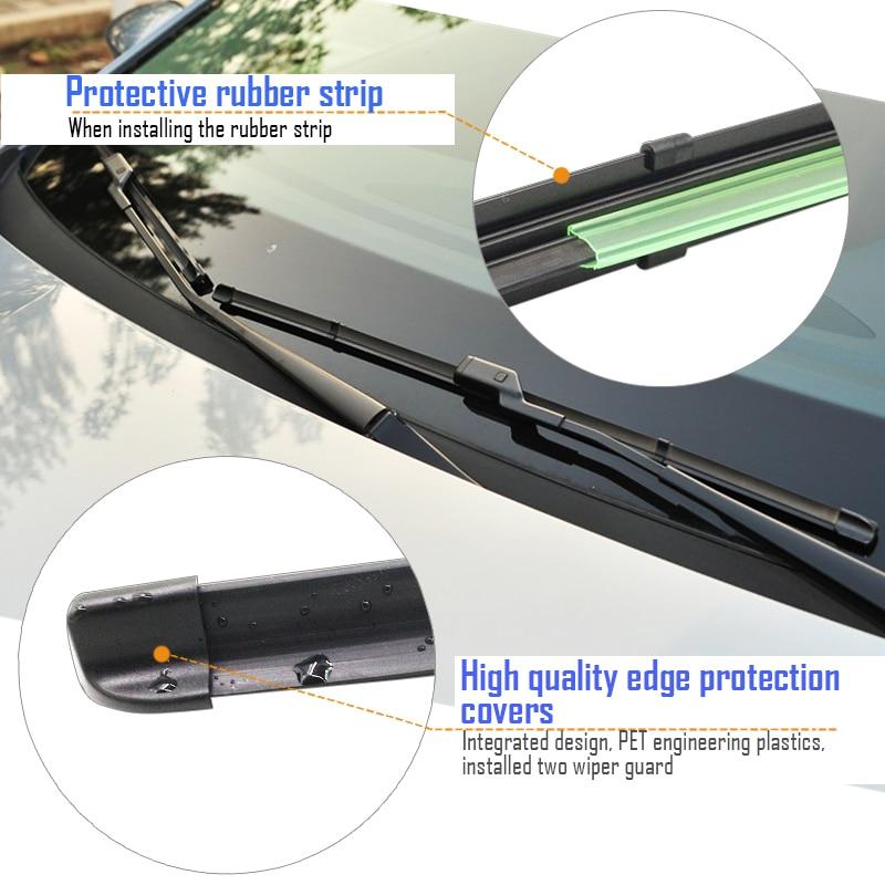De-Essuie-Glace 36 mm Noir brillant Vis Kit Oeillet BMW 335i