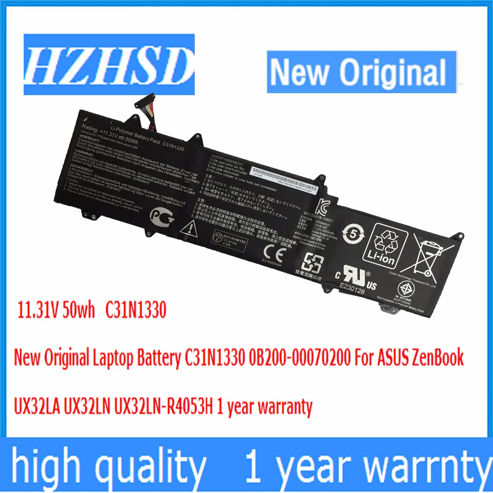 11 31V 50wh New Original C31N1330 Laptop font b Battery b font 0B200 00070200 For ASUS