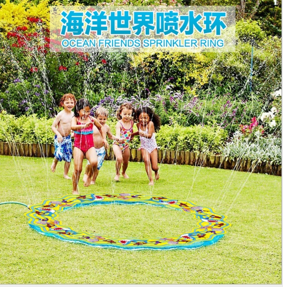 Fun Water Toys For Adults : Cm giant sprinkler ring pvc outdoor water toys for