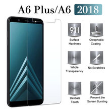 Protective glass For samsung a6 plus J6 J4 2018 on the galaxy 4j 6j a6plus 6a screen protector samsong tempered glas galax 9h(China)