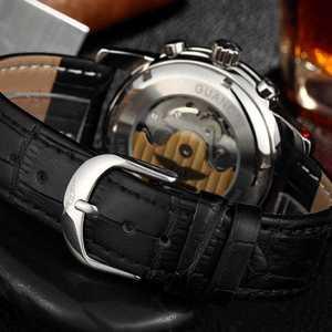 Image 5 - GUANQIN 2019 deep diving watch top brand luxury Clock Men Automatic 200m waterproof Mechanical clock men Relogio Masculino