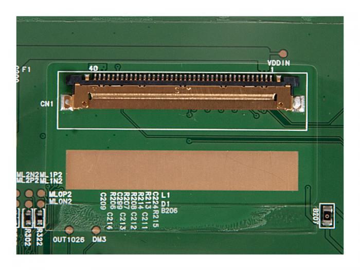 LCD 15.6 Glare NT156WHM-N50, WXGA HD 1366x768, 40L, LED