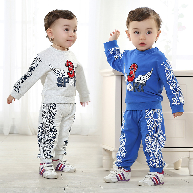 Anlencool Free shipping  baby bodysuits Valley Spring and Autumn infant boy suit flying wings baby clothing baby boy clothes