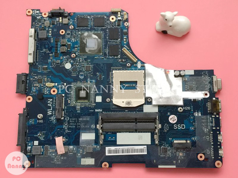NOKOTION 1920x1080 for lenovo Y510P Laptop Motherboard Mainboard DDR3 NVIDIA GT 755M 2GB VIQY1 NM A032 works-in Motherboards from Computer & Office    1