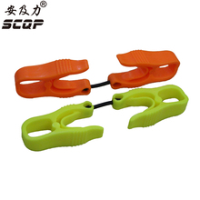 20PCS Industrial Plastic POM Safety Glove guard/glove clip For Safety Working Gloves At-Three (Make Any Logo On Clip)