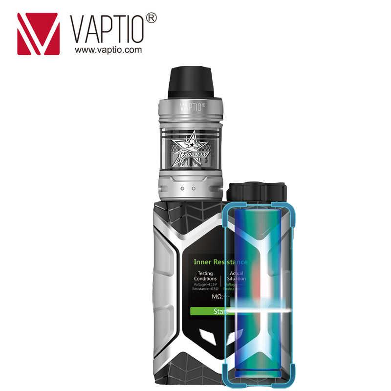 Оригинальный Vaptio настенный гусеничный комплект 80 Вт FROGMAN TANK 5,0 мл паровой комплект поддержка 1 шт. 18650 батарея TCR 1,3 дюймов экран без аккумулятора