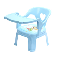 Baby dinner table dining chair cartoon seat plastic stool small bench chair for children table and chair kids table and chair