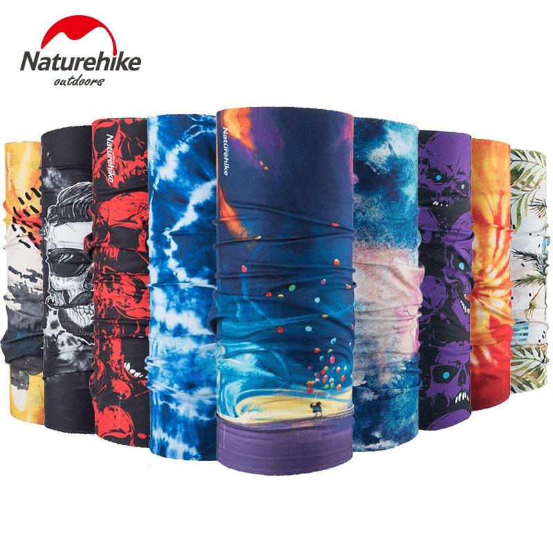 NatureHike NH17T020-J Multifunctional Sports Headwear Headband Bandana Balaclava Face Cover Scarf Sweatband Hairband Gym Cycling