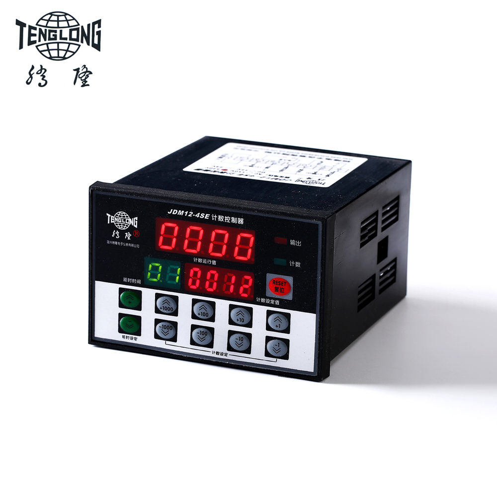 counter cyclical output stabilization in nigeria JDM12-4SE LED digital cable length meter counter cable length measuring device with relay output