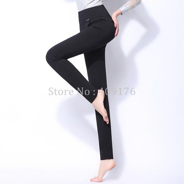 Leggings Pants 6XL Trousers Elastic Waist Pencil Pants Plus Women High Quality Thigh Trimmer Lady High Waist Daily Wear 400g 3