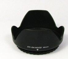 DC-SN HOOD 58mm Screw Mount Flower Crown Camera Lens Hood Petal Shape for Canon Nikon Tamron Sigma Sony 58mm Lens