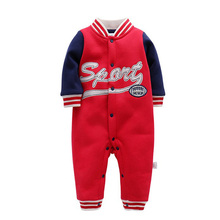 Baby Rompers Long Sleeve Boy Girl Clothing Jumpsuits Children Autumn Set Newborn Clothes Cotton