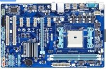 100% первоначально Бесплатная доставка для рабочего материнская плата для Gigabyte GA-F2A55-DS3 Гнездо FM2 DDR3 Твердотельные Конденсаторы бесплатная доставка