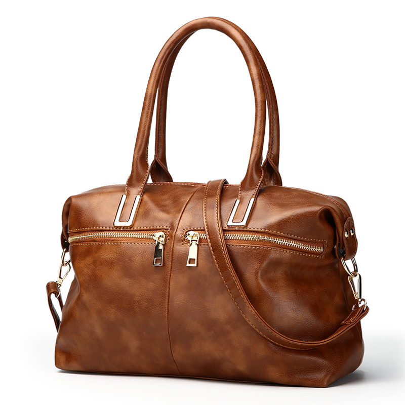 Sa Vintage Pu Leather Women Handbag Shoulder Bag Luxury Handbags Bags Designer Large Bonton Las Tote Sac In Top Handle From Luggage