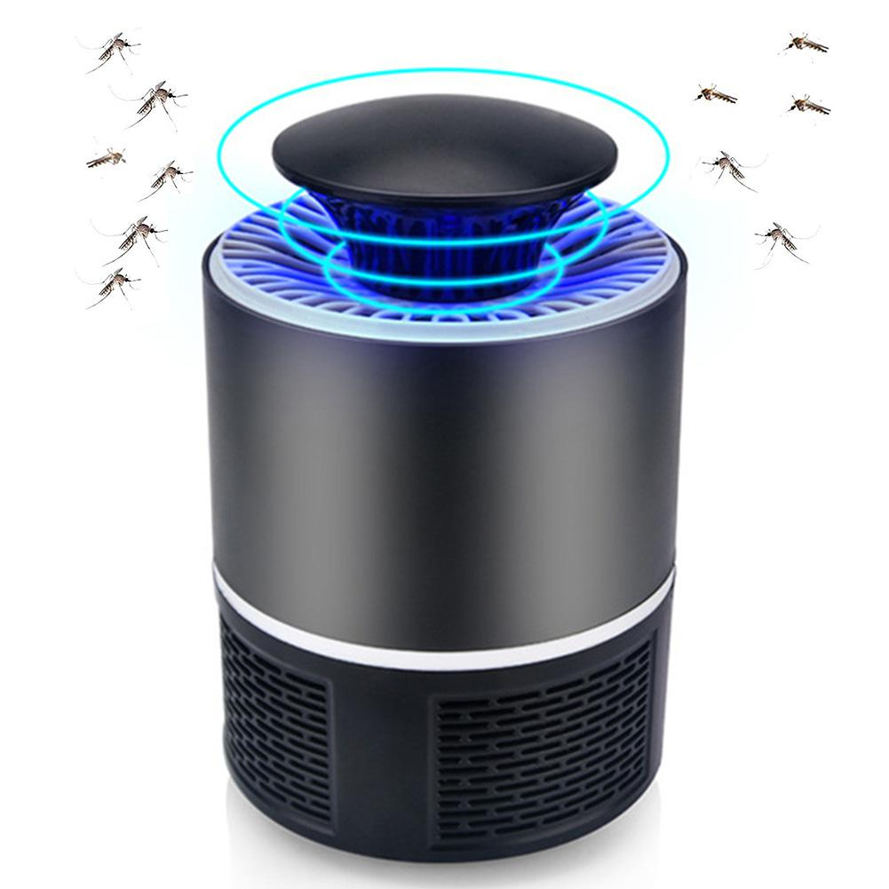 USB Electronics Mosquito Killer Trap Moth Fly Wasp LED Night Light Lamp Bug Insect Lights Killing Pest Zapper Repeller 110V/220V(China)