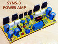 Assembled Mono Classic Symasym5-3 Discrete Power amplifier board 200W AMP