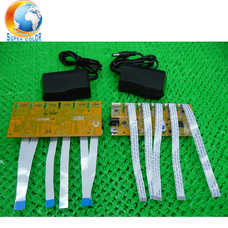 11 colors Good Quality Free Shipping For Epson Stylus Pro 4900 4910 Cartridge Chip Decoder Board good quality free shipping for hp 500 800 120 130 90 100 cartridge chip decoder