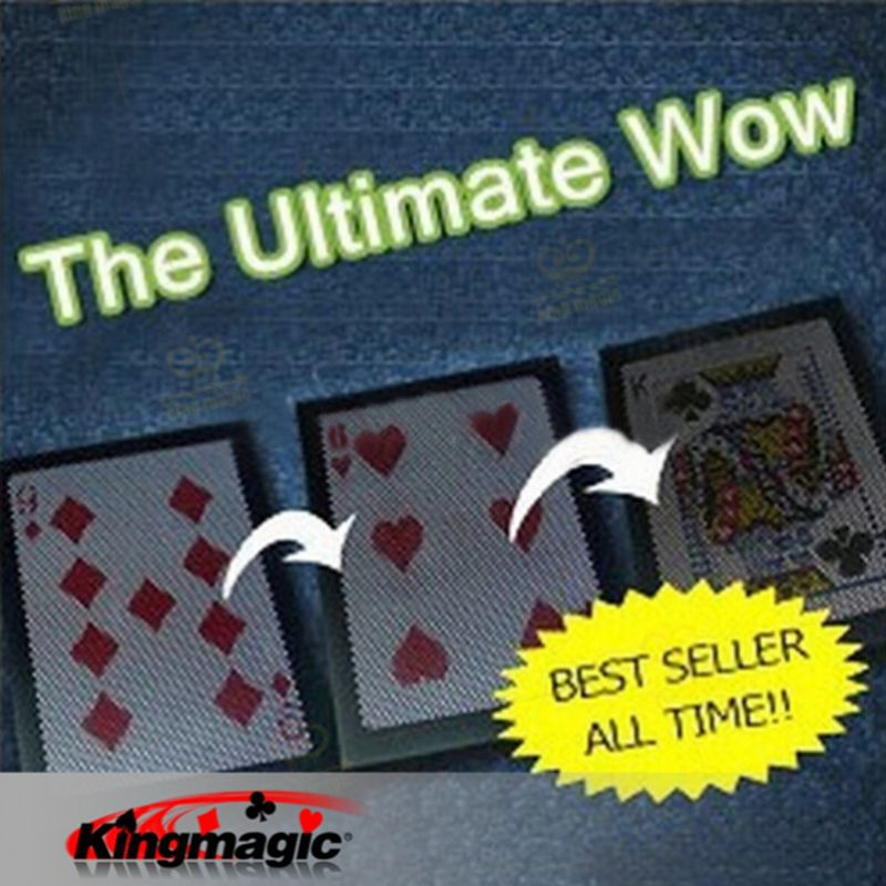 Best Selling The Ultimate WOW 3.0 Version Change Twice Ultimate Exchange Magic Tricks Magic Props Magia Magic Toys nick lewin s ultimate electric chair and paper balls over head magic tricks