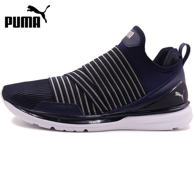 20a941923a2a40 Original New Arrival 2018 PUMA IGNITE Limitless Stripped Men s Running  Shoes Sneakers